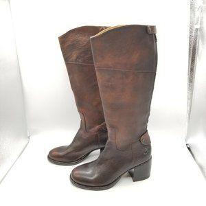 Patricia Nash Loretta Tall Boots Brown Leather